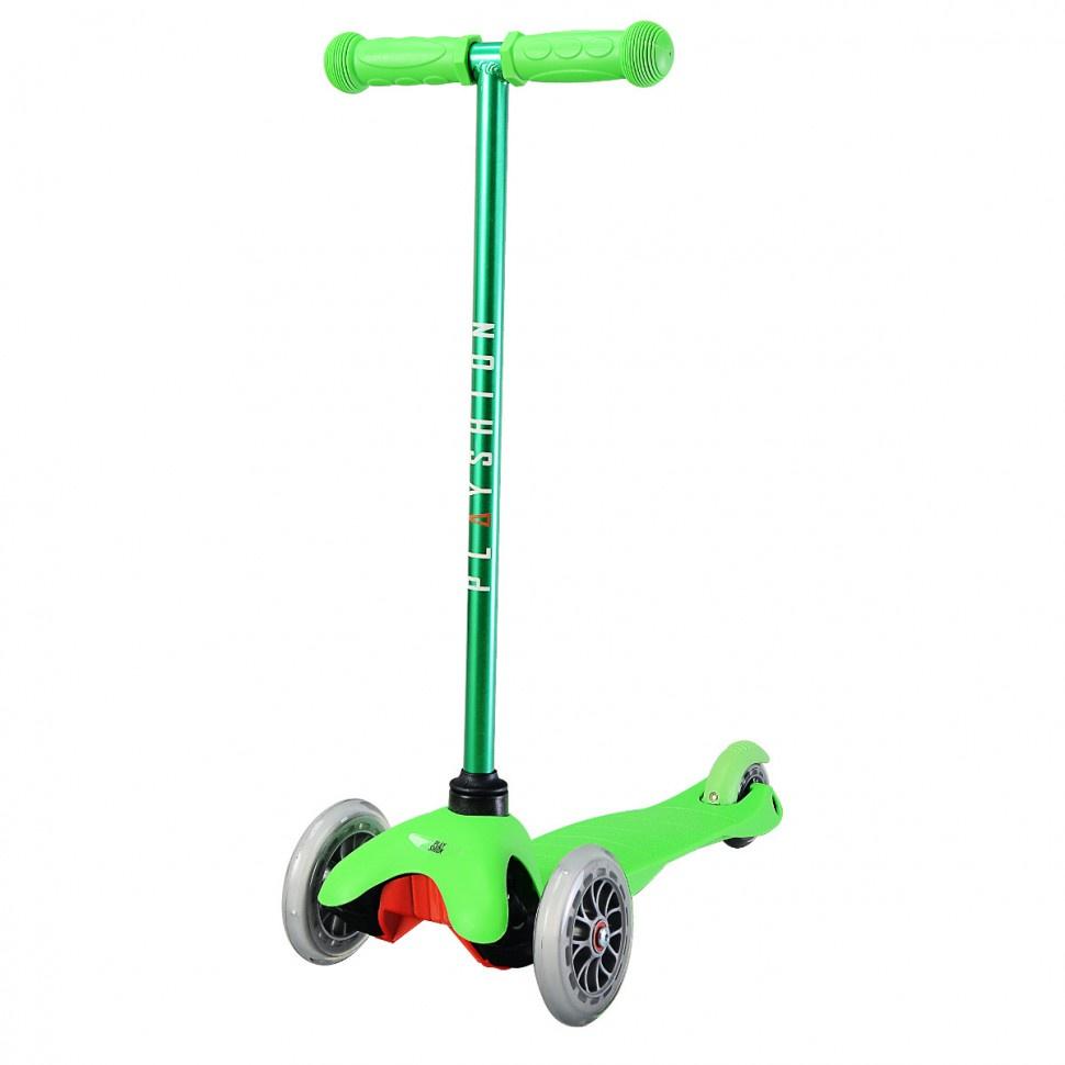 Самокат Playshion MINI KIDS, 5074, зеленый самокат playshion mini kids orange