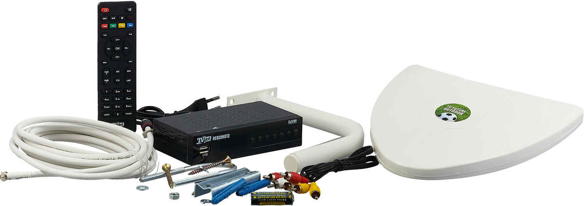 РЭМО TV Future Outdoor, Black White набор для цифрового ТВ РЭМО
