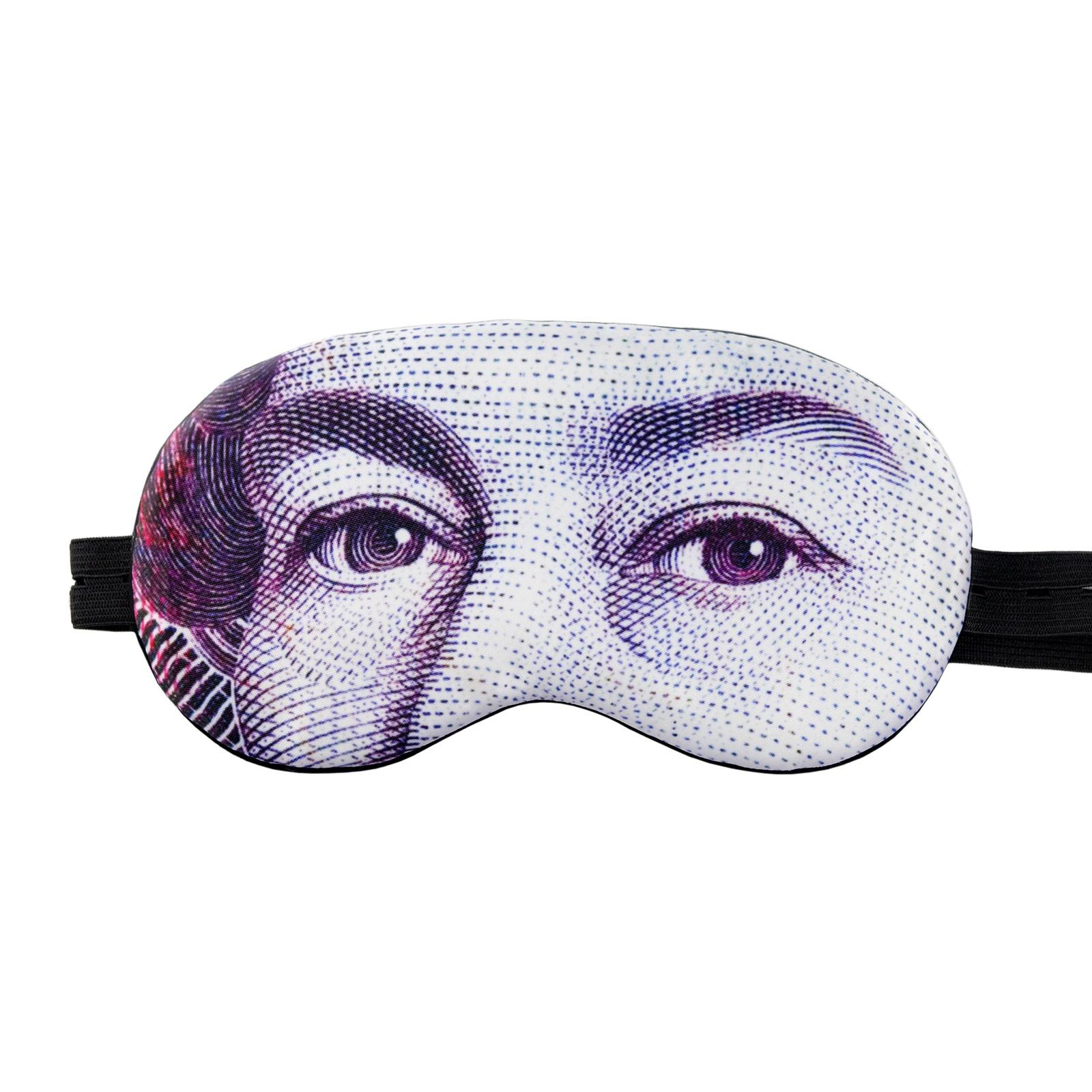 Маска для сна Shuba С изображением глаз Королевы Елизаветы II в пластиковой упаковке недорго, оригинальная цена