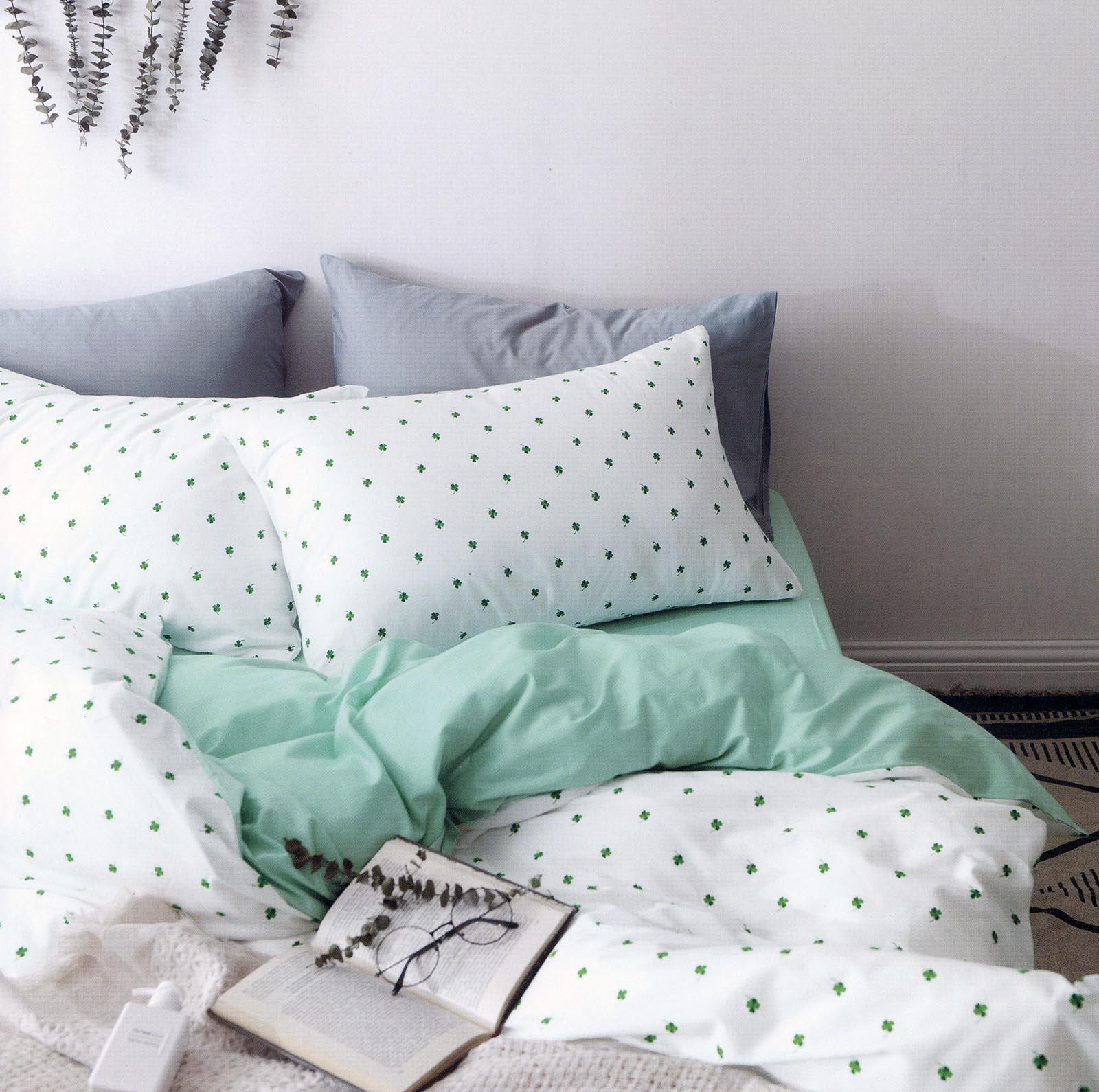 Комплект постельного белья Sofi de Marko Модерн №20, Евро-5140, белый