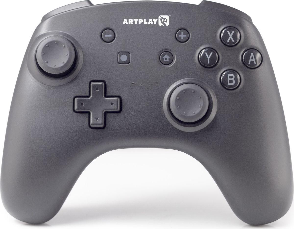 Геймпад Artplays NS45, для Nintendo Switch, ACSWT30, черный геймпад nintendo switch pro controller