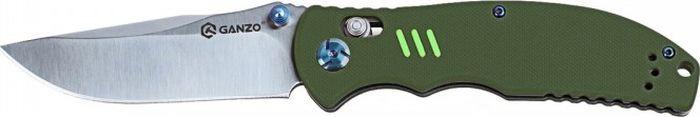 Складной нож Ganzo Firebird G7501, R40262, зеленый, длина лезвия 8.9 см