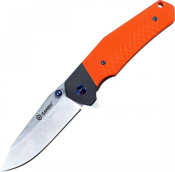 Складной нож Ganzo Firebird G7491, R40257, оранжевый, длина лезвия 8,7 см
