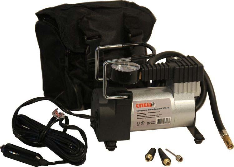 Автомобильный компрессор Спец КПА-35, поршневой