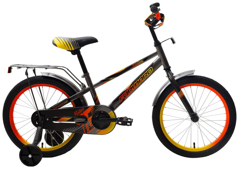 Велосипед Forward METEOR 18 2018, RBKW9LNH1007, серый