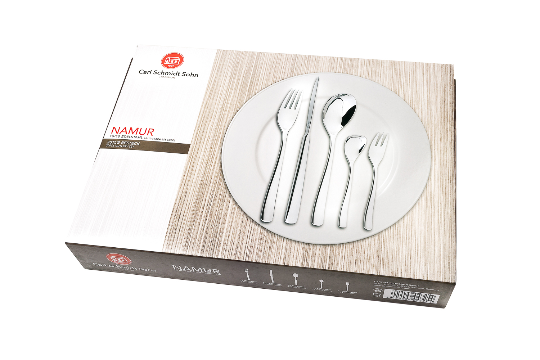 Набор столовых приборов CARL SCHMIDT SOHN CS043254, Нержавеющая сталь с покрытием набор столовых приборов carl schmidt sohn baguette 24 предмета