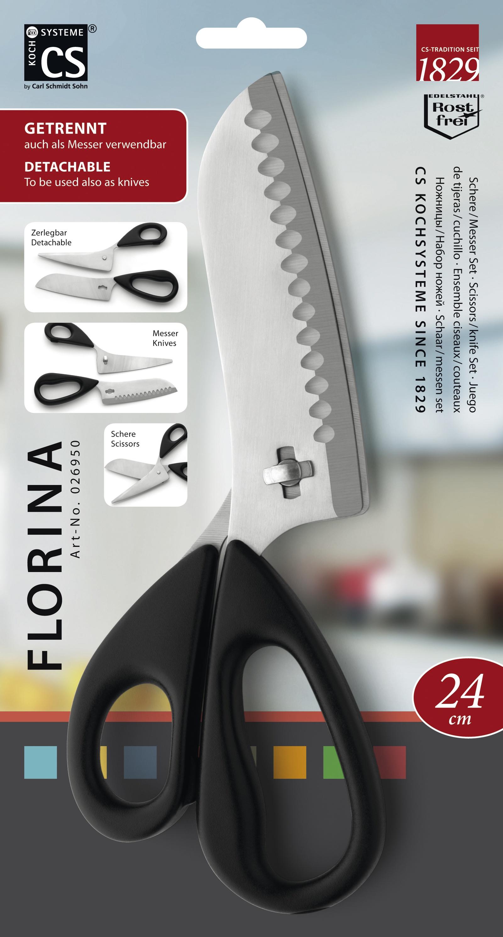 Ножницы кухонные CS-KOCHSYSTEME CS026950, CS026950, Нержавеющая сталь