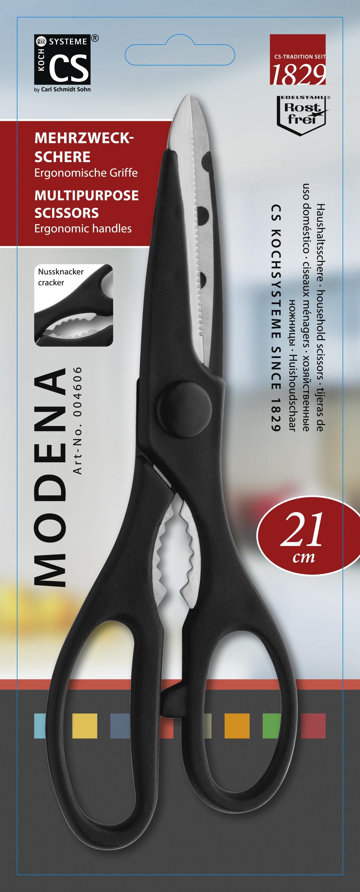 Ножницы кухонные CS-KOCHSYSTEME Modena, CS004606, Нержавеющая сталь