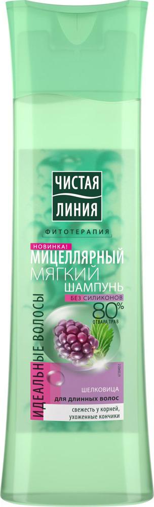 Чистая Линия Мицеллярный Шампунь Идеальные Волосы, 400 мл