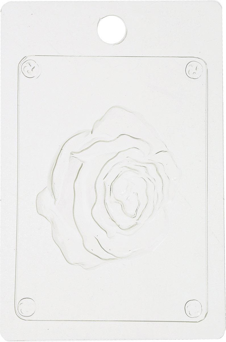 Форма для мыла Выдумщики Бутон розы, 7 х 7,5 х 1,5 см форма для мыла выдумщики букет тюльпанов пластиковая цвет прозрачный