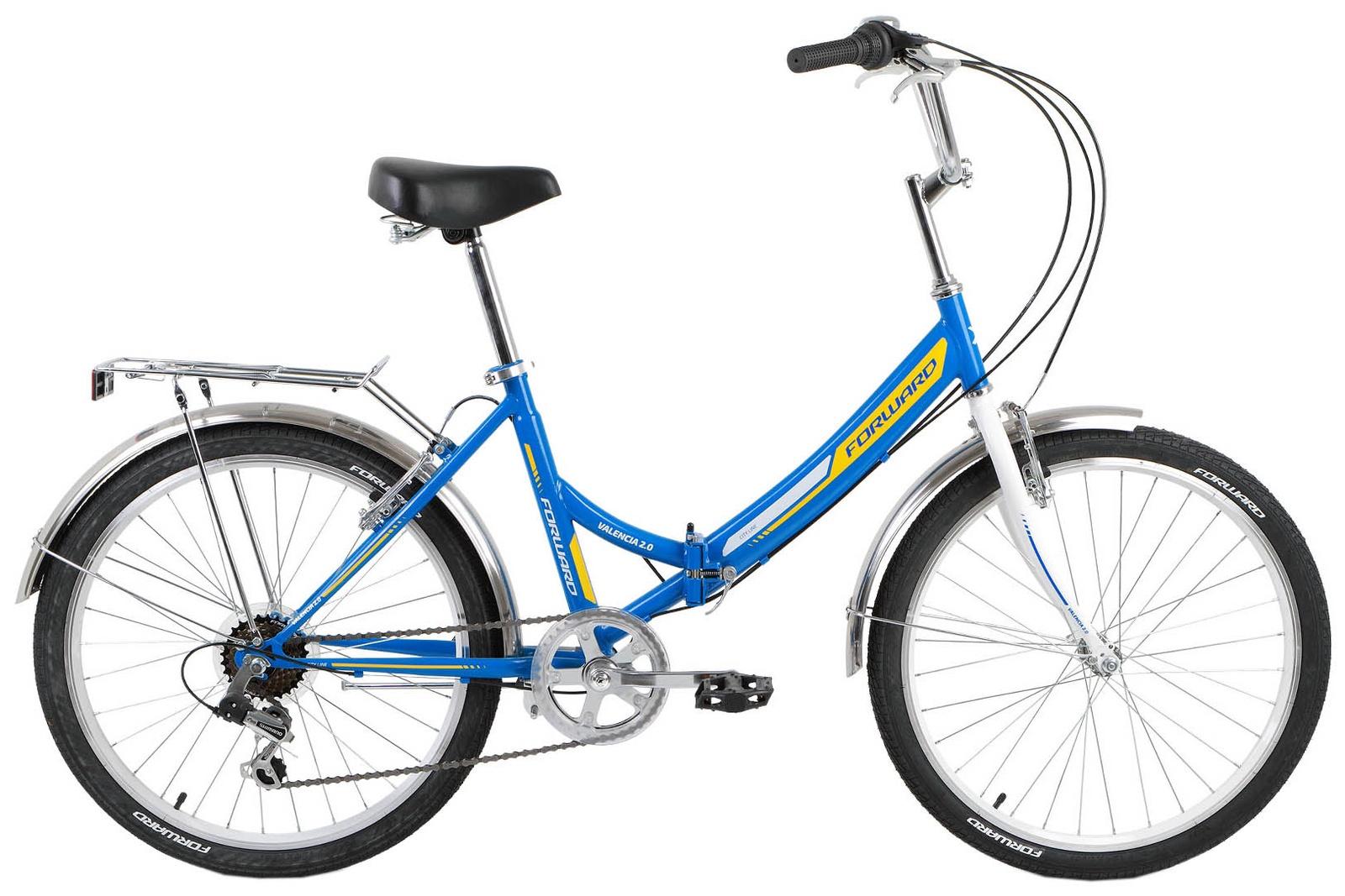 Велосипед Forward VALENCIA 24 2.0, RBKW9YF46002, синий