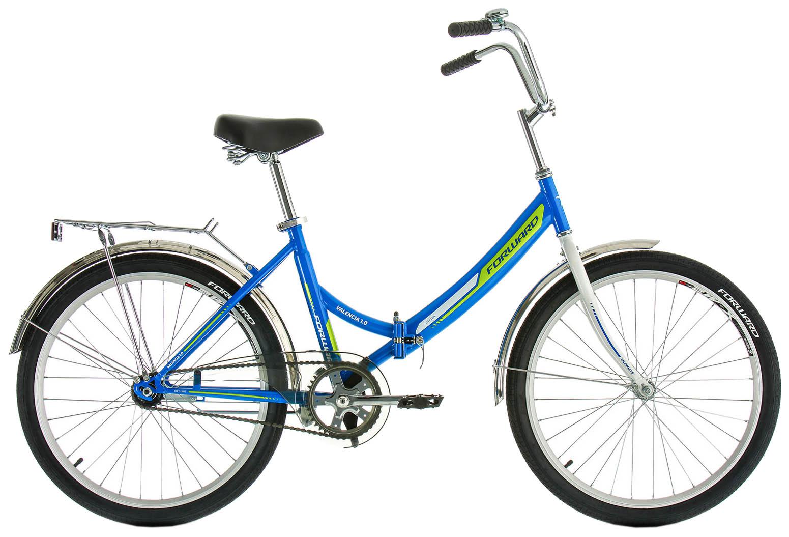Велосипед Forward VALENCIA 1.0, RBKW9YF41002, синий