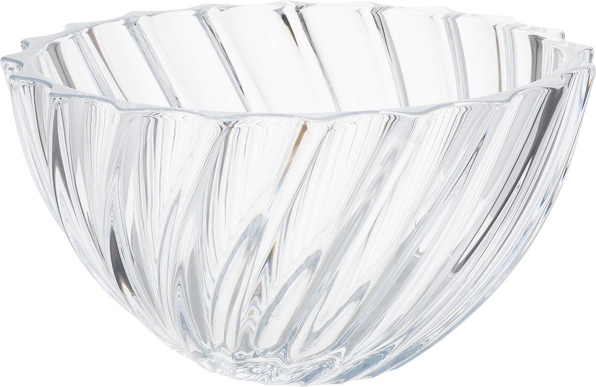 Фруктовница Crystalite Bohemia Scallop, 28 см. 17548 scallop edge strappy cami top