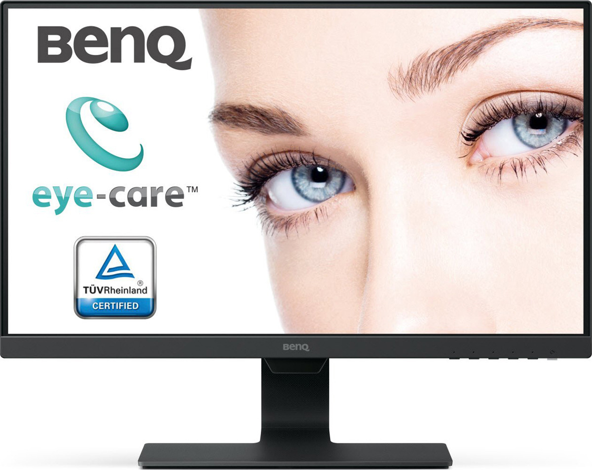 Монитор BenQ GW2480, 9H.LGDLA.TBE, черный цена и фото