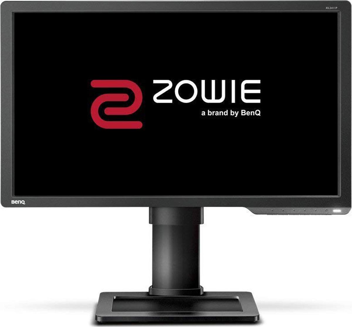 Монитор BenQ XL2411P ZOWIE, 9H.LGPLB.QBE, серый