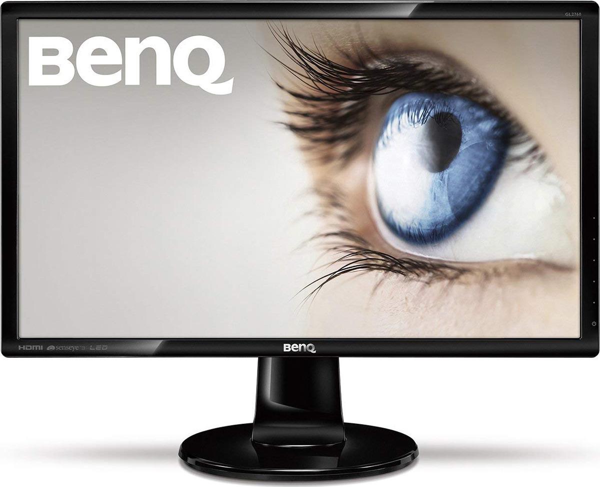 Монитор BenQ GL2760HE, 9H.LC8LA.TBE, черный цена и фото