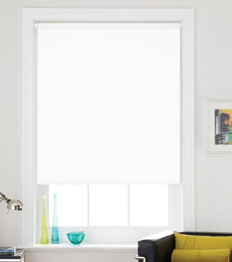 Рулонная штора Garden Inova, INOVA 050/902, белый, 170 х 50 см