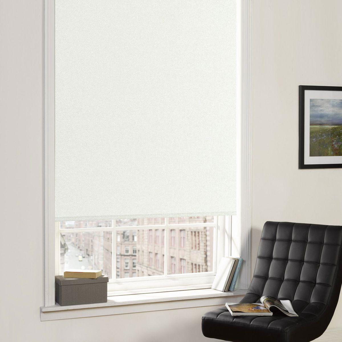 Рулонные шторы Garden (Текстиль) Blackout, Ширина80 см, Однотонный