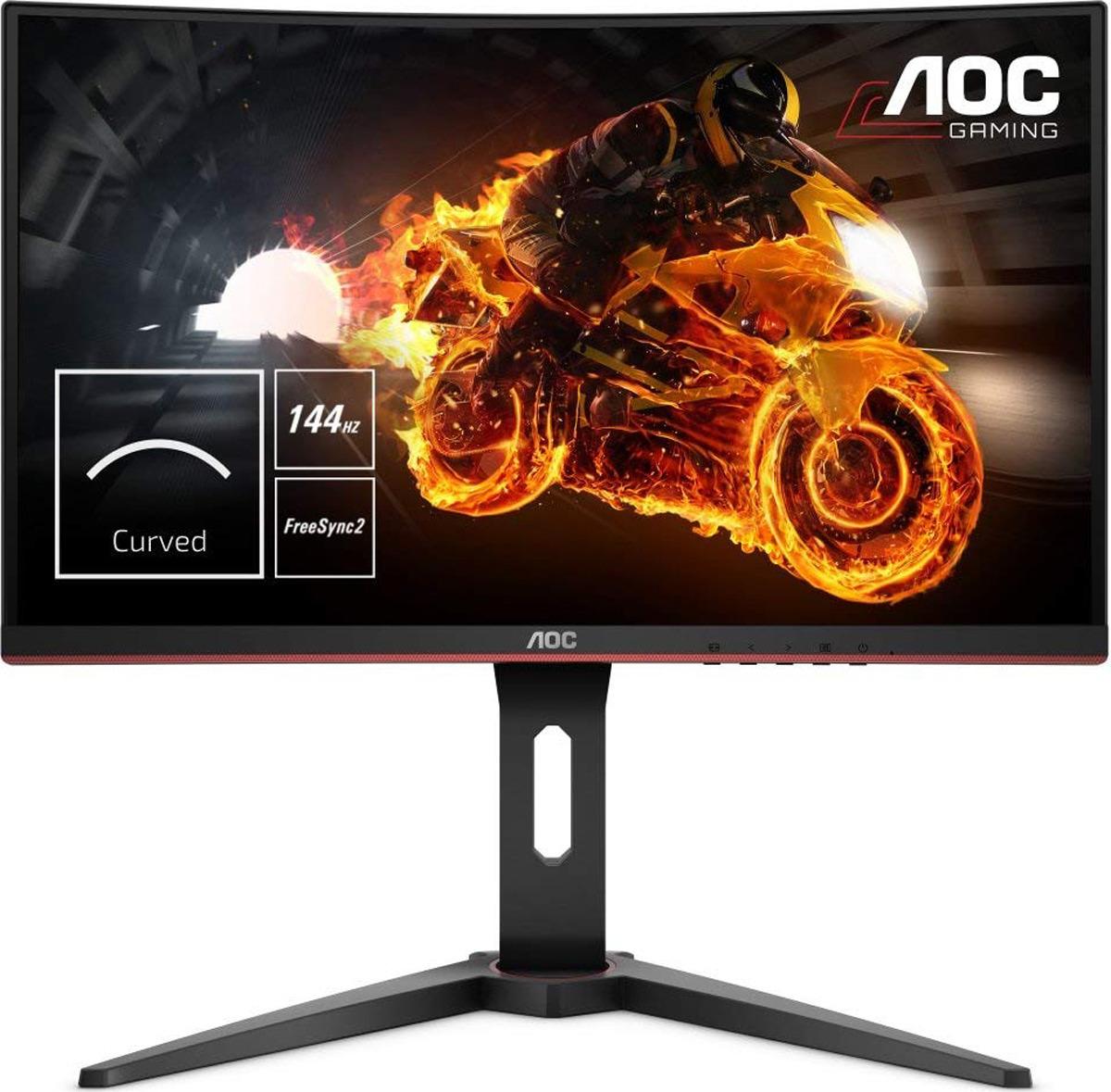 Монитор AOC C27G1, черный, красный стоимость