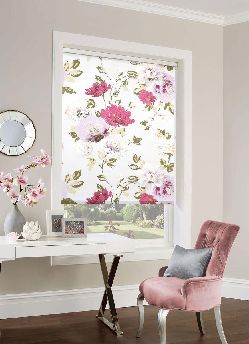 Рулонная штора Garden Sky Print 1 917905032w2237 красный мультиколор 170 х 50 см