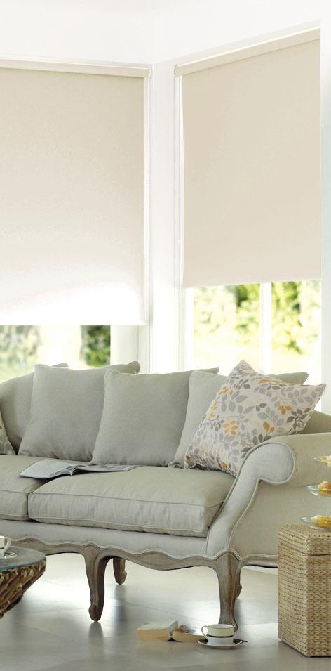 Рулонные шторы Garden (Текстиль) Shine, Ширина120 см, Однотонный
