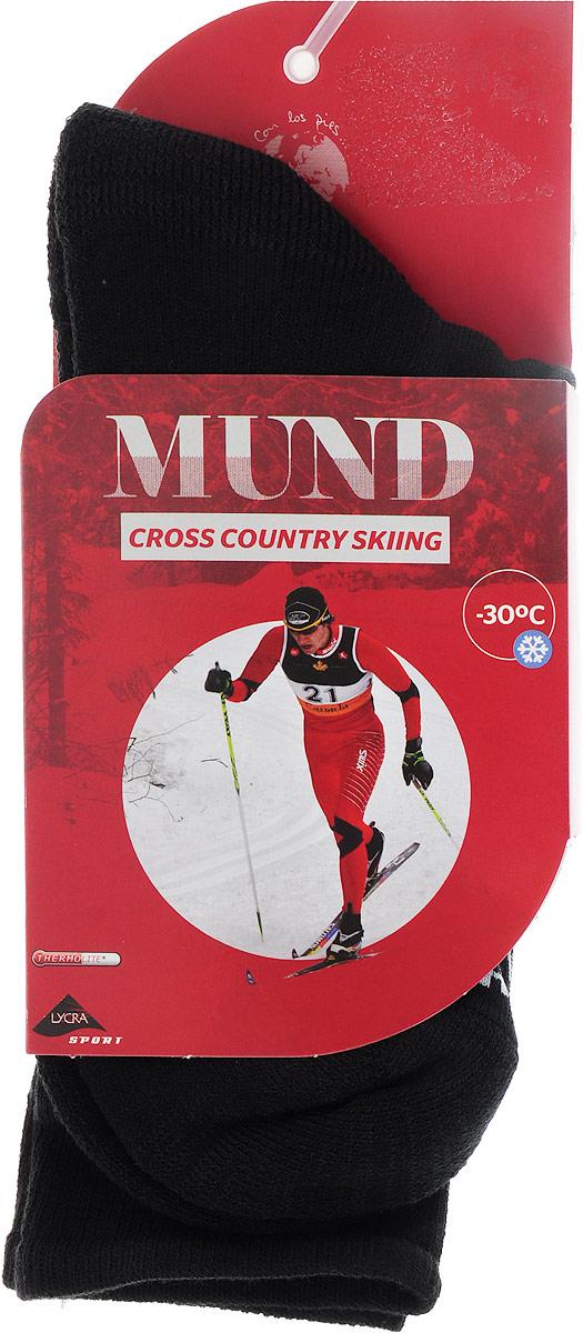 Термоноски Mund Cross Country Skiing, цвет: черный. 316. Размер L (41/45)
