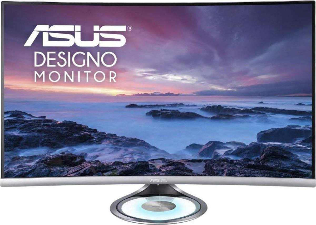 Монитор ASUS MX32VQ, 90LM03R0-B01170, серебристый