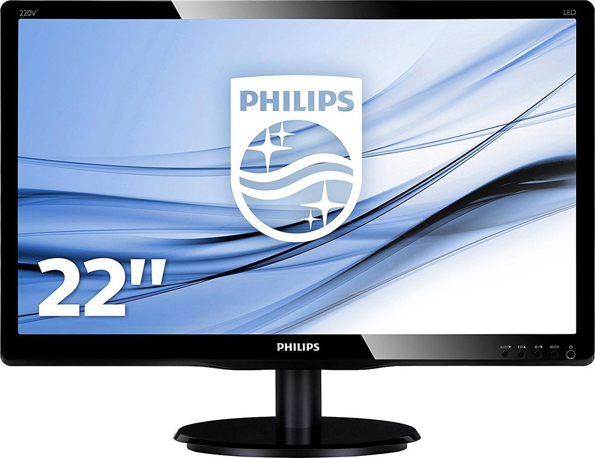 Монитор Philips 223V5LSB2/10(62), черный цена