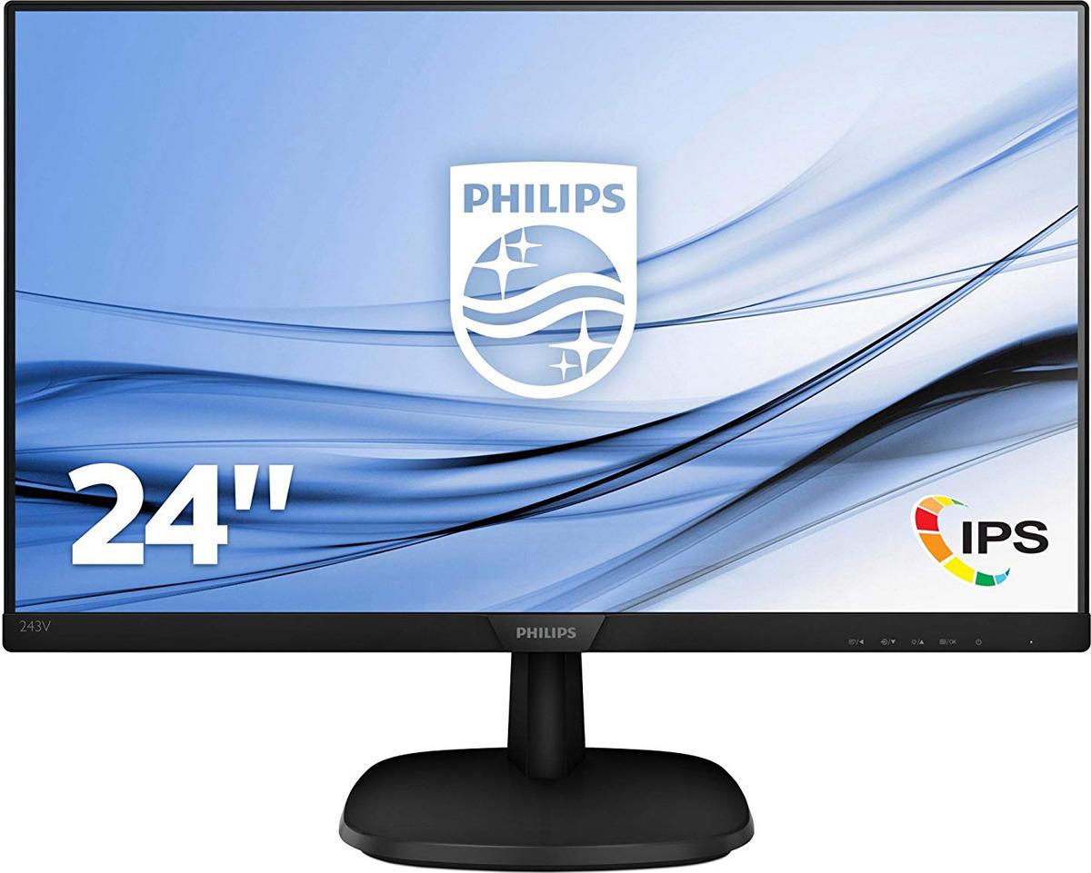 Монитор Philips 243V7QDSB/00(01), черный стоимость