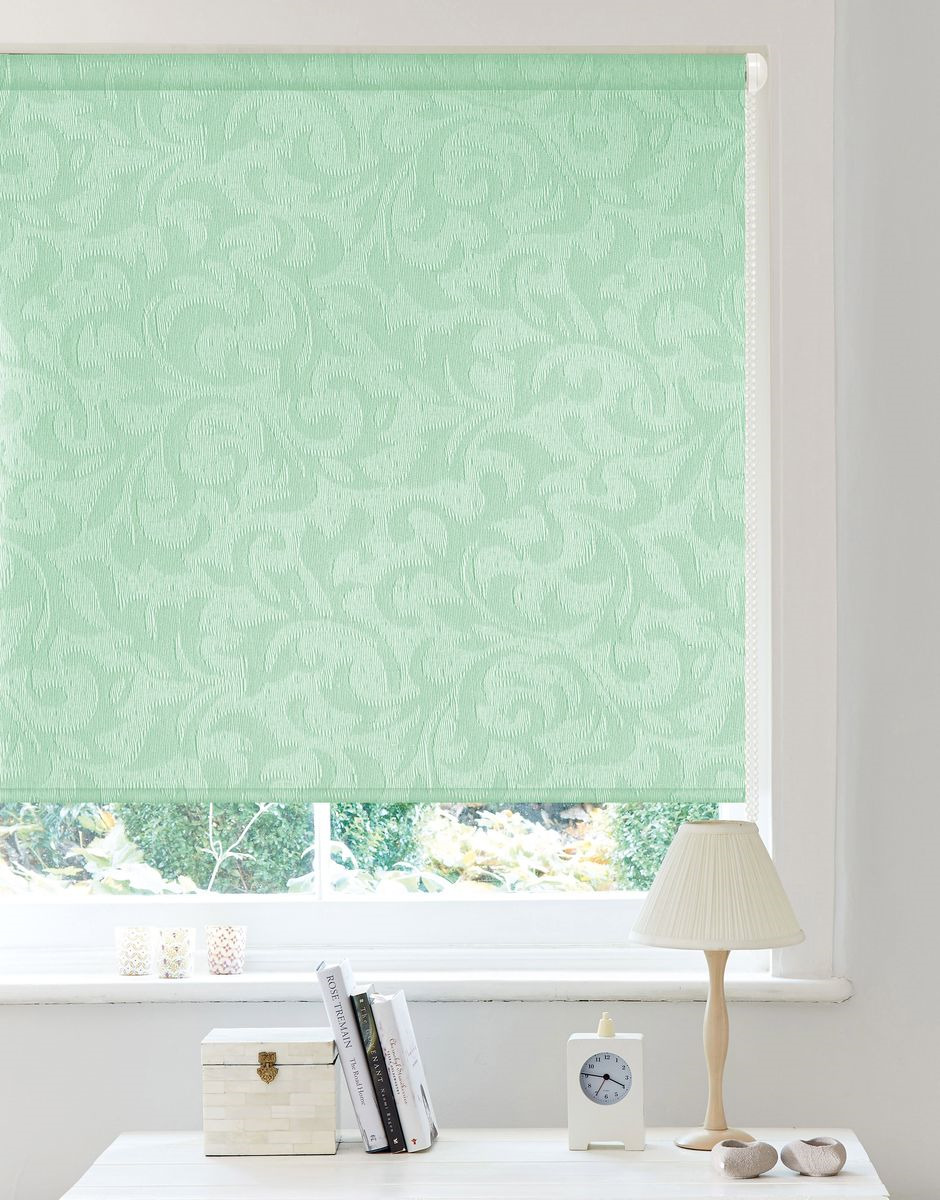 цены Рулонные шторы Garden (Текстиль) , Ширина60 см, Однотонный