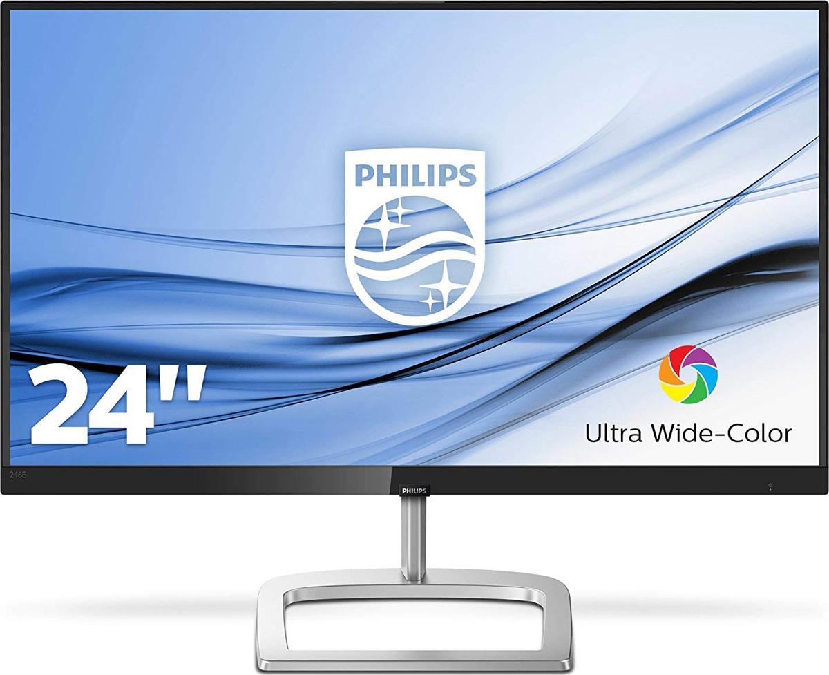 Монитор Philips 246E9QDSB/00, черный, серебристый стоимость