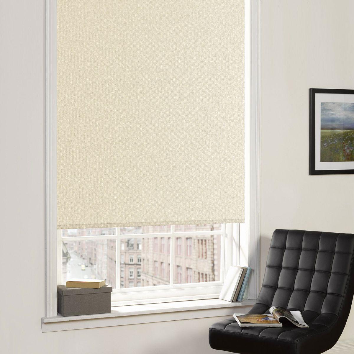 Рулонные шторы Garden (Текстиль) Blackout, Ширина100 см, Однотонный