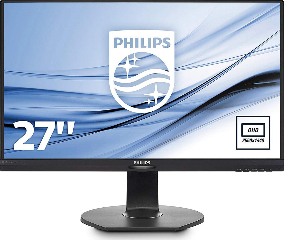 Монитор Philips 272B7QPJEB/00, черный монитор philips 223s7ejmb 00 черный