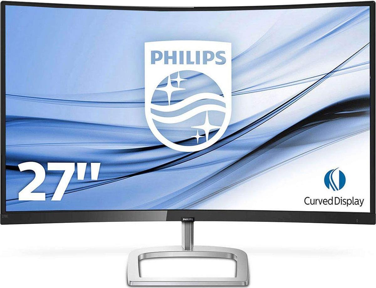 Монитор Philips 278E9QJAB/00, черный, серебристый
