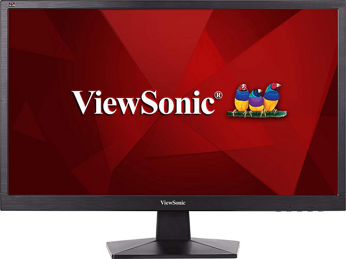 Монитор ViewSonic VA2407H, VS16218, черный