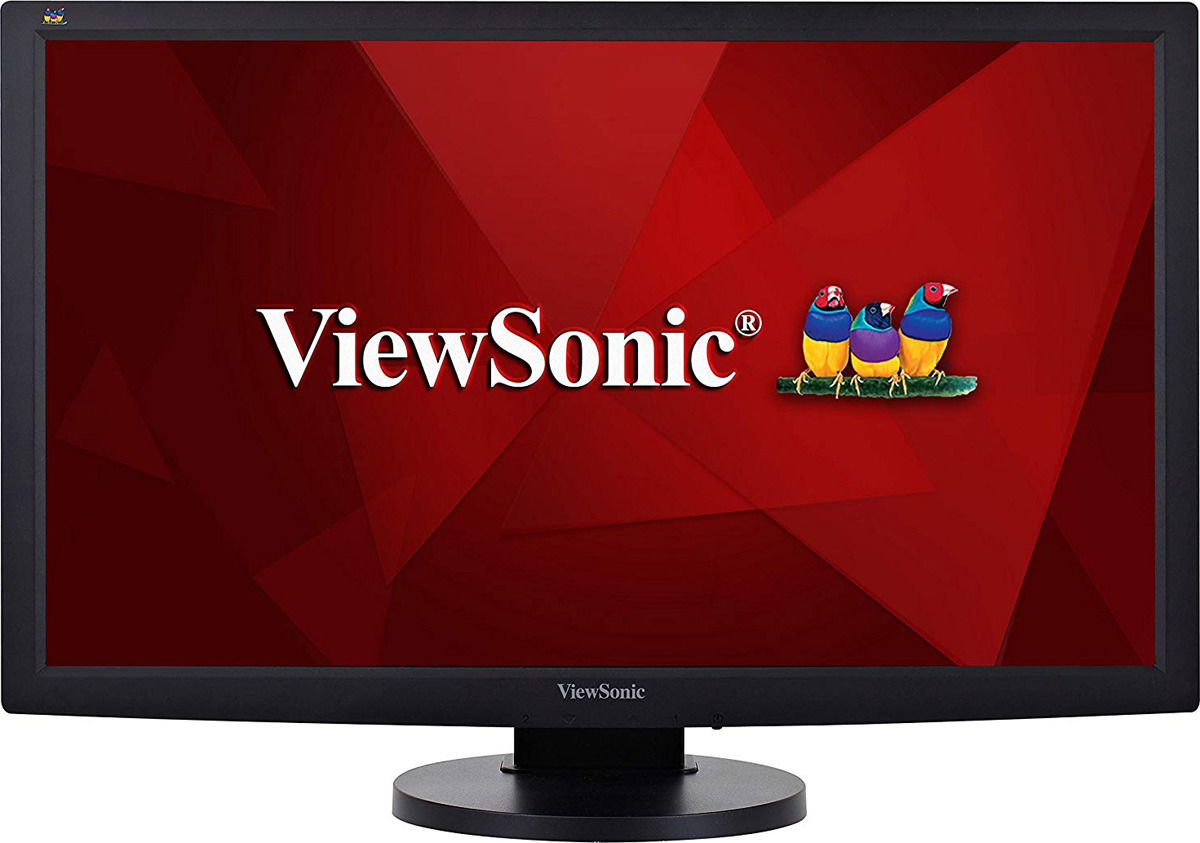 Монитор ViewSonic VG2433MH, VS15615, черный