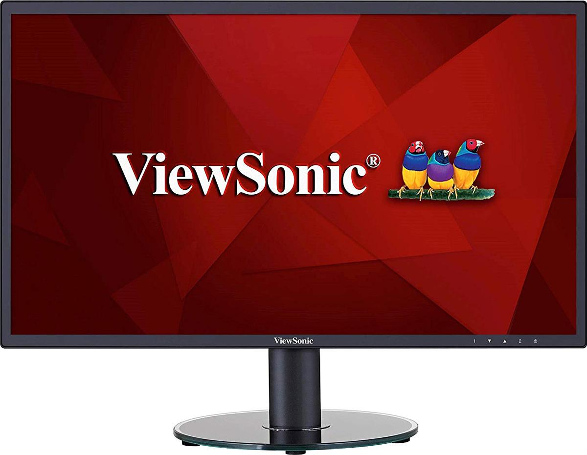 Монитор ViewSonic VA2419-SH, VS16422, черный монитор 23 8 viewsonic va2419 sh