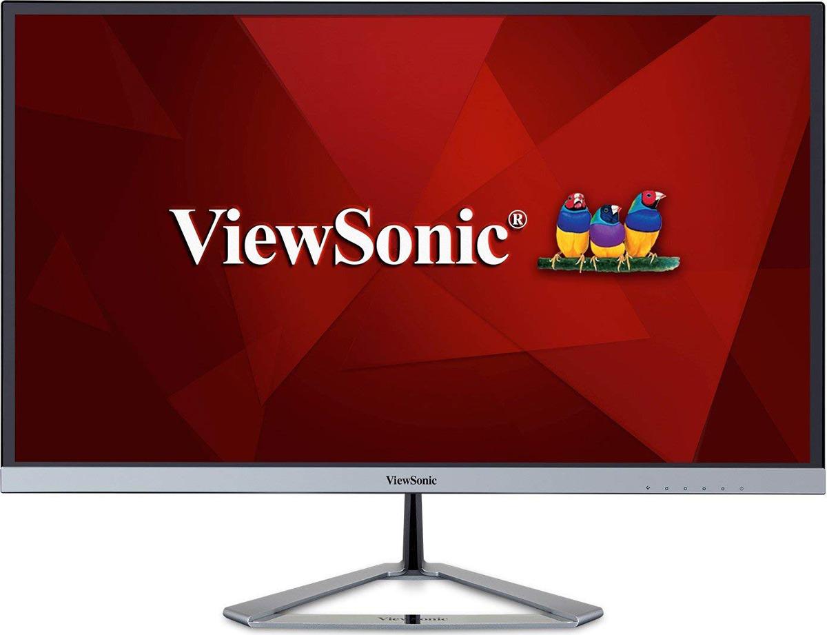 Монитор ViewSonic VX2776-SMHD, VS16387, черный, серебристый