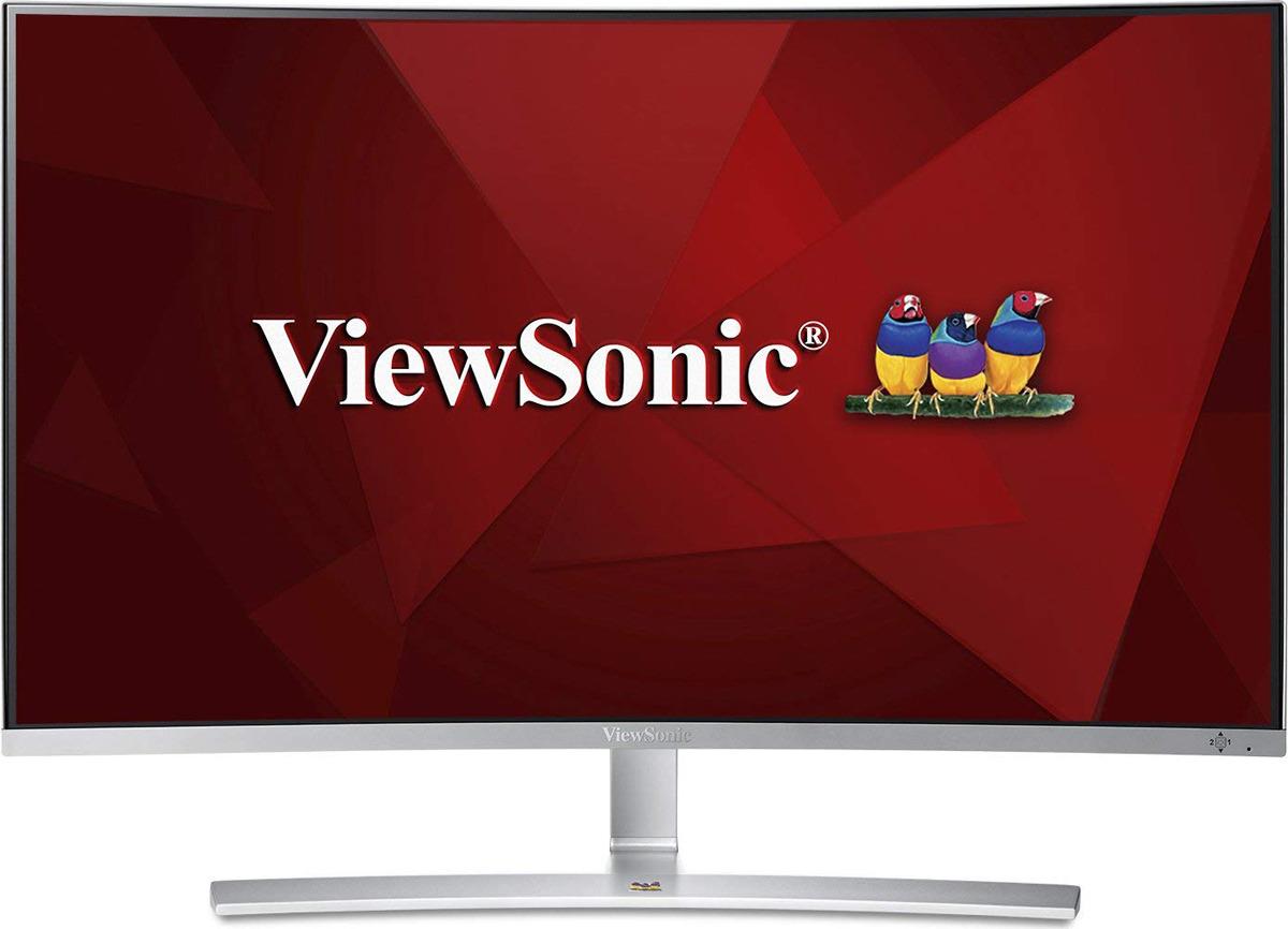 Монитор ViewSonic VX3216-SCMH-W-2, VS16577, серебристый монитор viewsonic vx2363smhl w white led