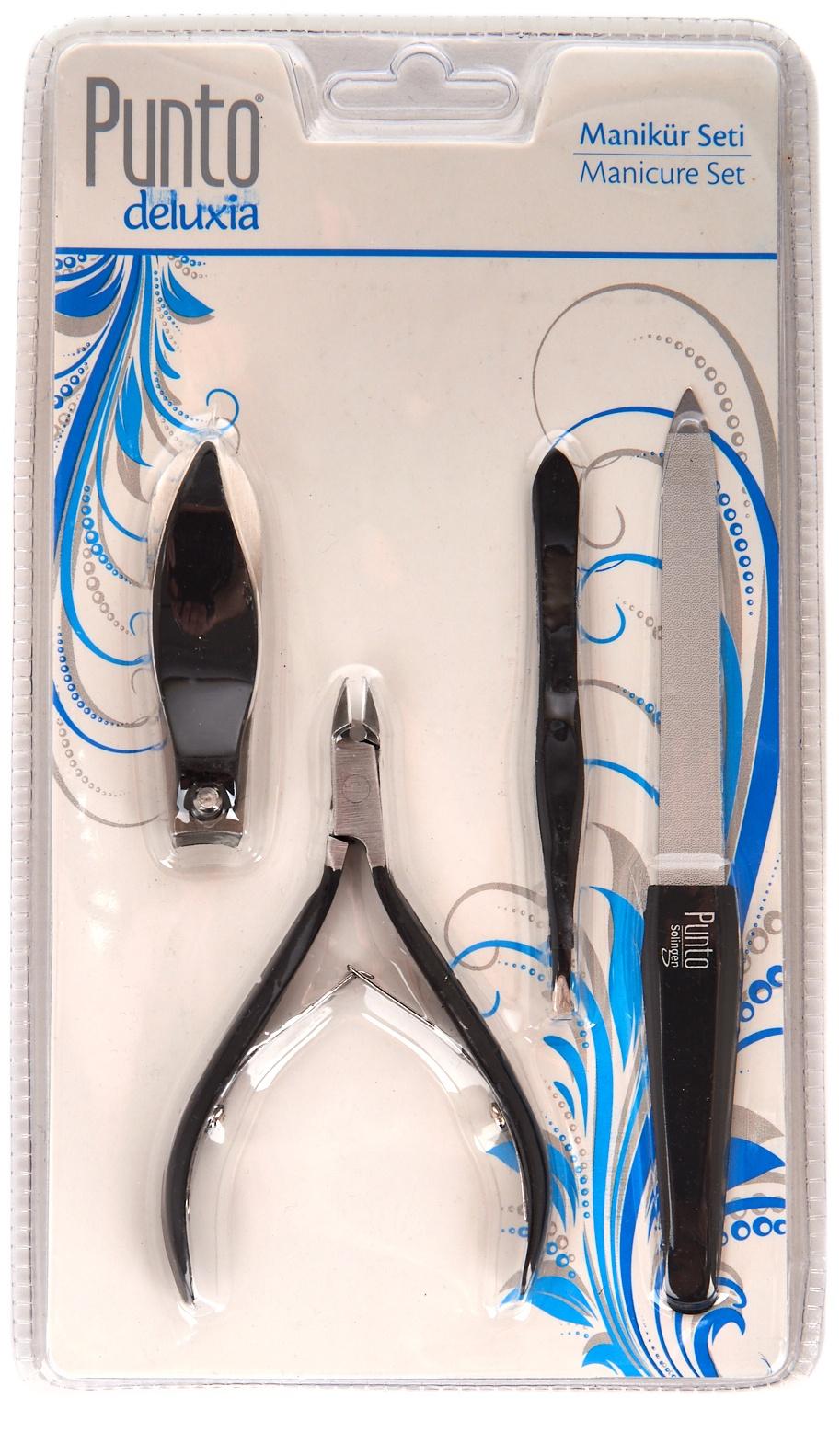 Набор маникюрных инструментов Punto p106