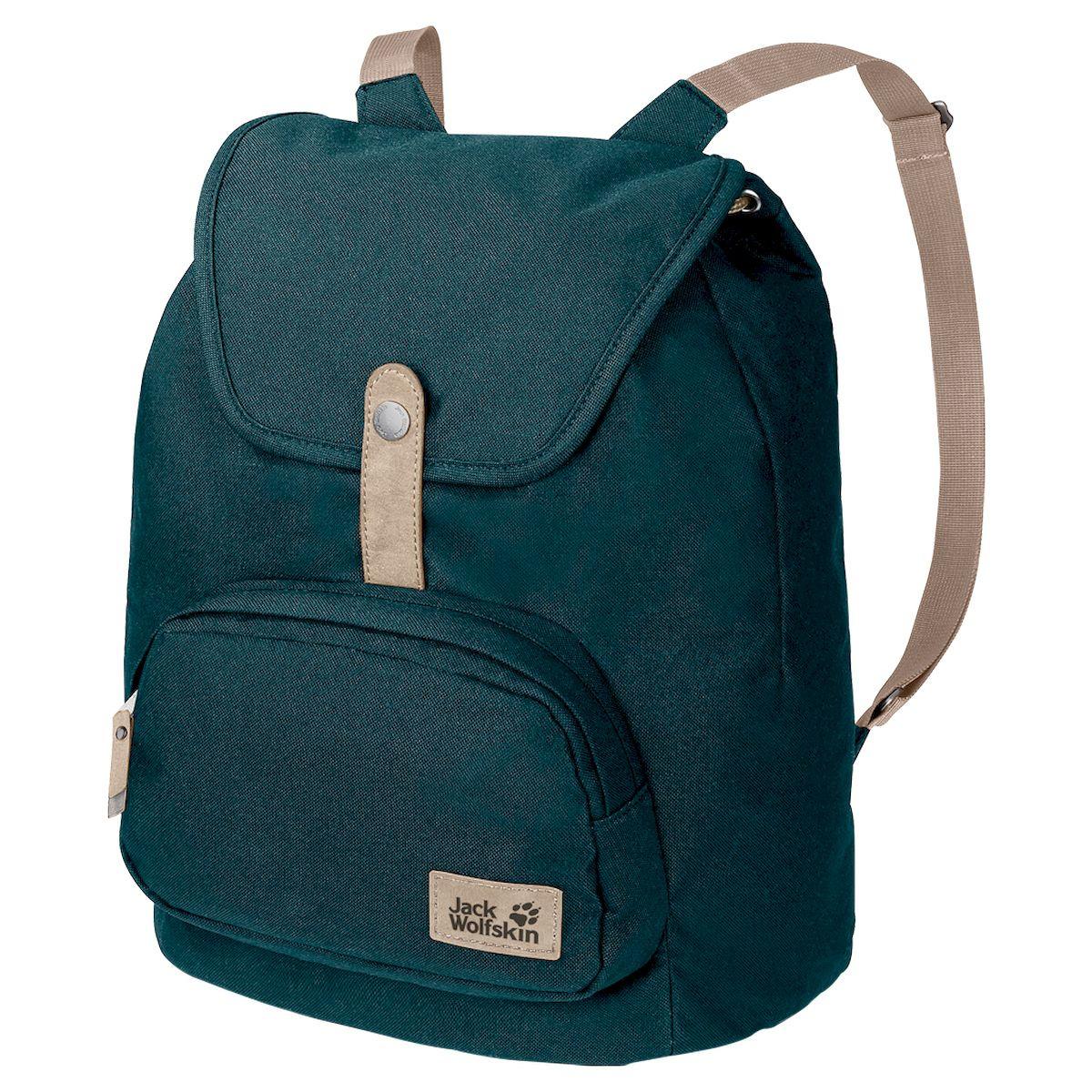 Рюкзак Jack Wolfskin Long Acre, 2006562-4041, зеленый2006562-4041Рюкзак LONG ACRE (ЛОНГ ЭЙКЕ) выполнен в стильном ретро-дизайне и по размерам идеально подходит для города — при этом неважно, в родном ли вы городе или же за полмира от него. Основное отделение имеет простую застежку в виде затяжки на шнурке и откидной клапан. В удобном переднем отделении поместятся телефон, ключи и т.д. Рюкзак выполнен в привлекательном дизайне — в форме пирамиды с узкими лямками. Как и все сумки и рюкзаки серии SEVEN DIALS (СЭВЭН ДАЙЭЛЗ), LONG ACRE (ЛОНГ ЭЙКЕ) сшит из прочной ткани из переработанных материалов, а его основание и отделка выполнены из искусственной замши.