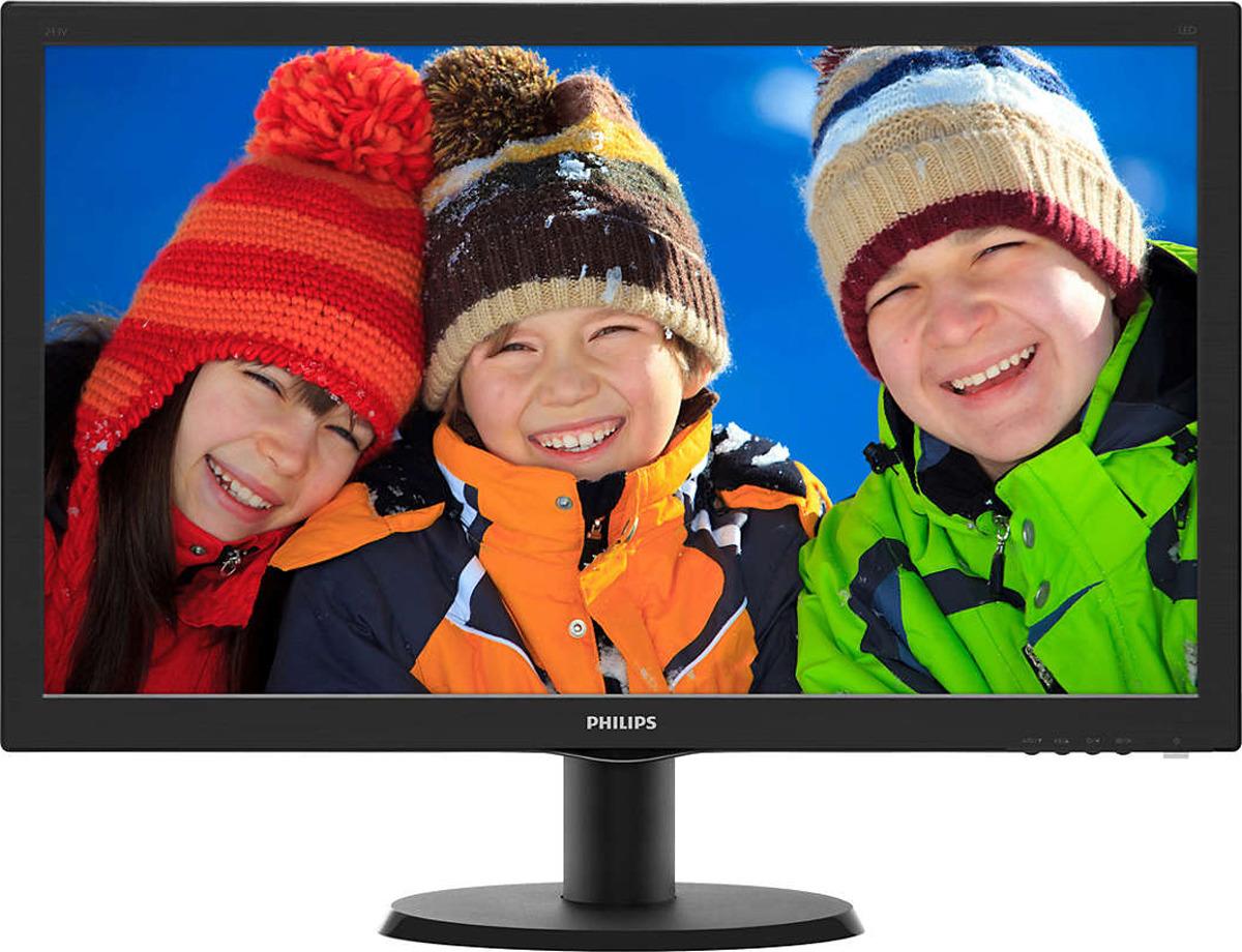 все цены на Монитор Philips 243V5QHSBA/00(01), черный онлайн