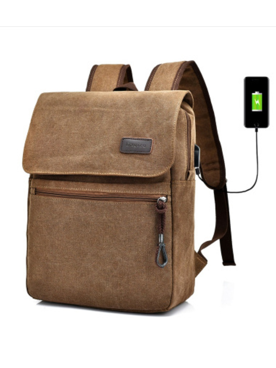 Рюкзак PIRAMIDA VKUSOV городской c USB выходом, PV096/коричневый цены