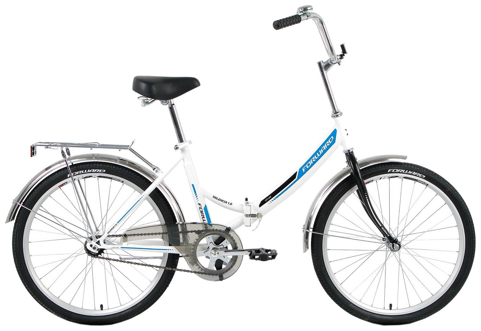 Велосипед Forward VALENCIA 1.0, RBKW9YF41003, белый