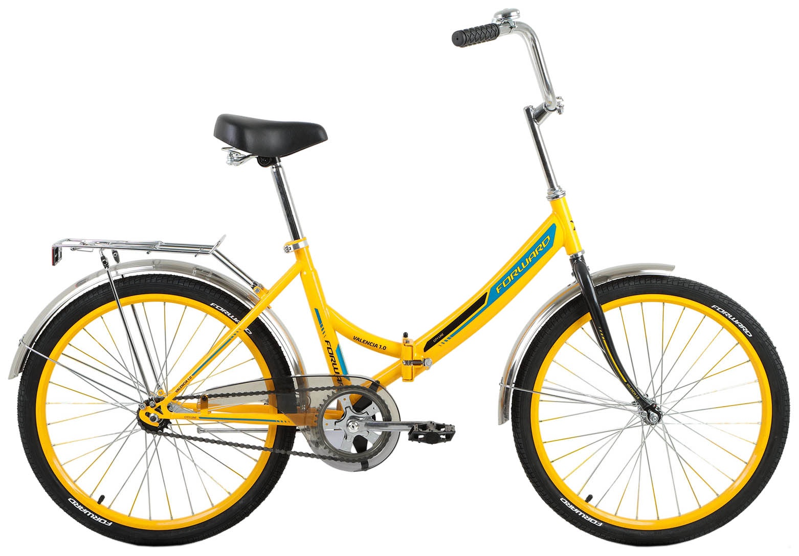 педальные машины Складной Forward VALENCIA 1.0, RBKW8YF41003, желтый