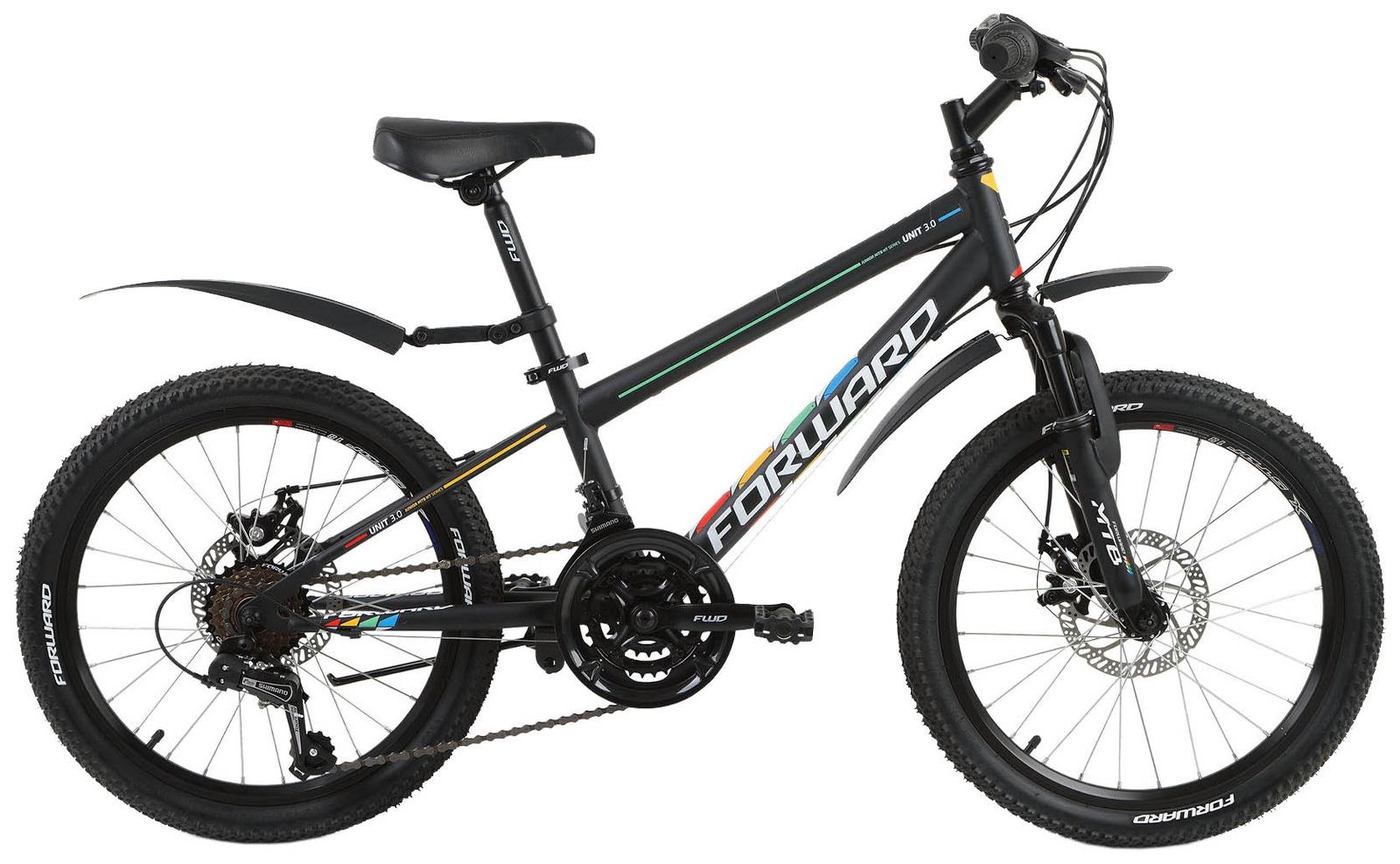Велосипед Forward UNIT 20 3.0 disc , RBKW8JN0P002, черный