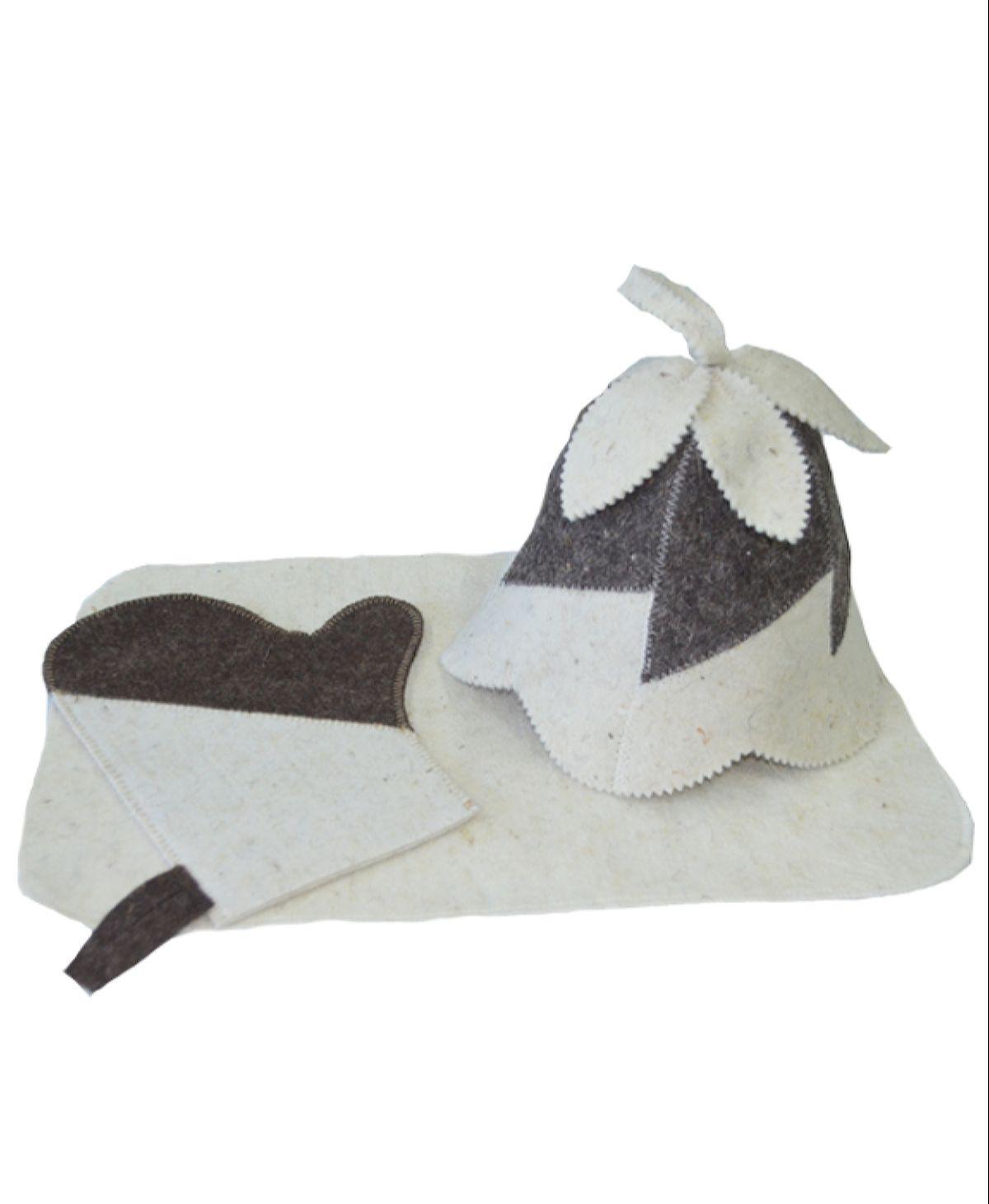 Банный комплект Pastel для бвани и сауны, 20090, бежевый