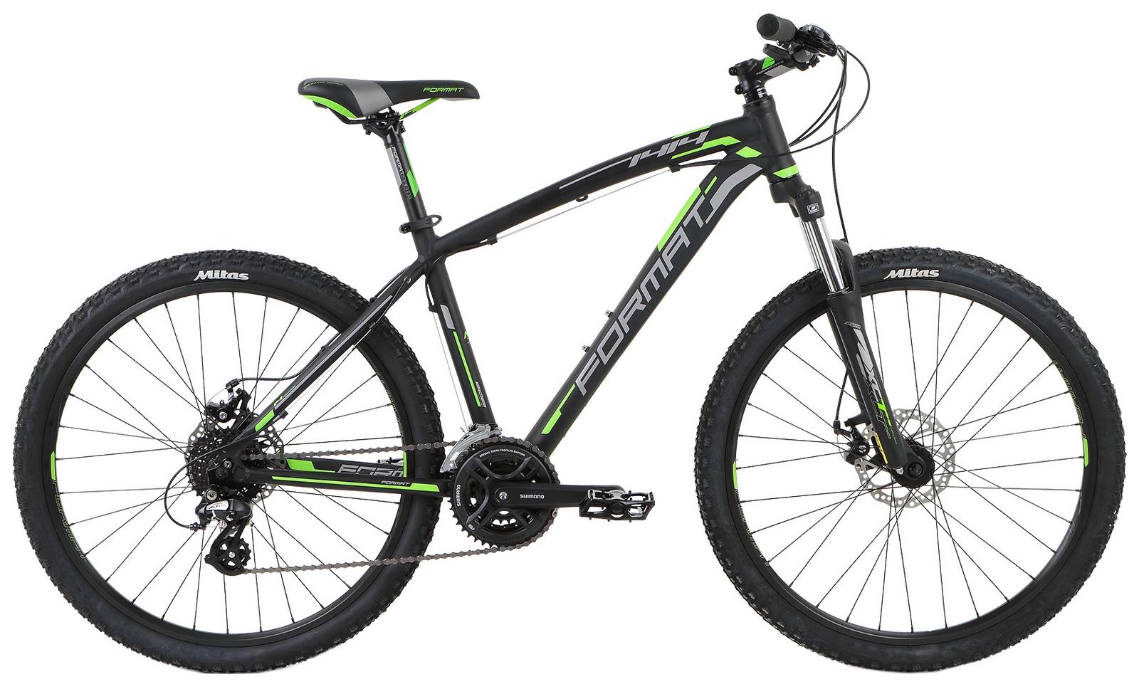 Велосипед Format 1414, RBKM6M66R010, черный цены
