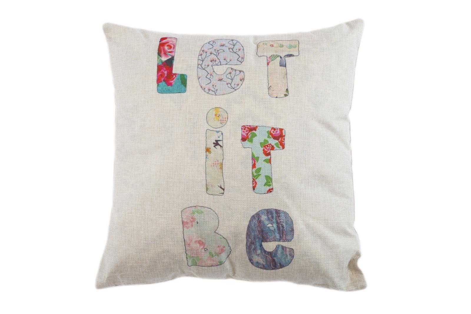 Подушка декоративная Pastel декоративная, 13155231, бежевый