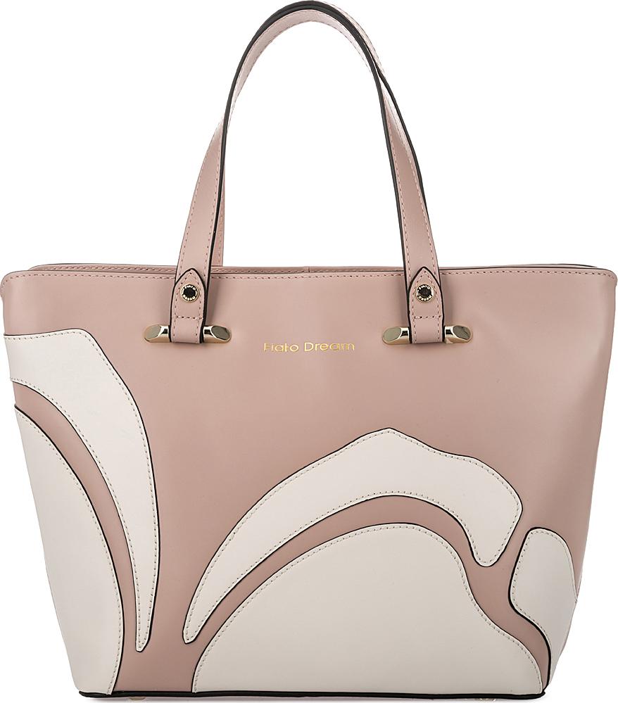 Сумка женская Fiato Dream, 1121, розовый, латте сумка женская fiato dream 1138 латте